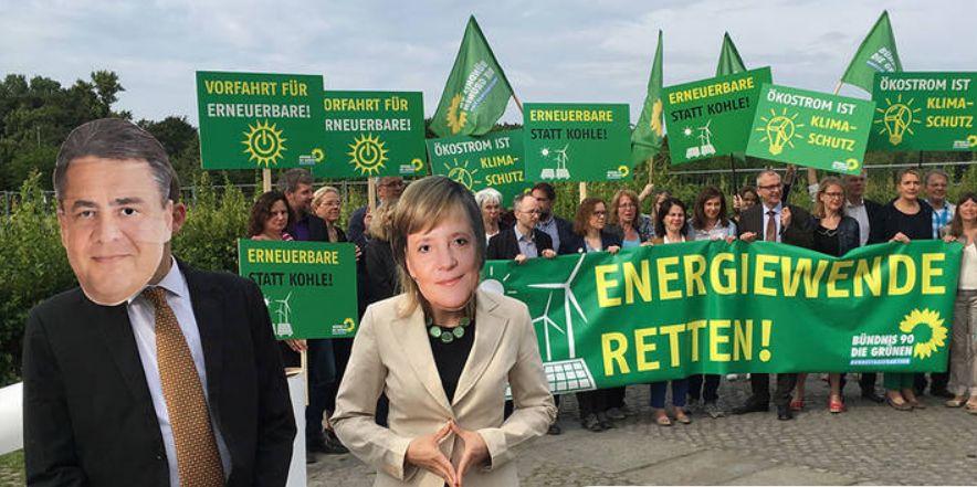Große Koalition macht Vollbremsung bei der Energiewende!