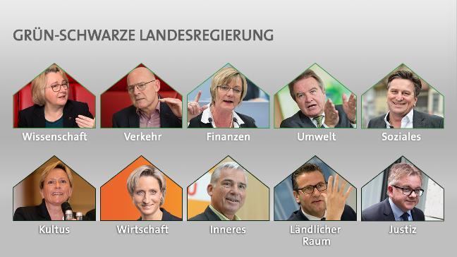 Die neue grün-schwarze Landesregierung!