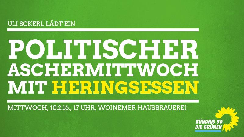 Aschermittwochs-Heringsessen am 10. Februar um 17 Uhr in der Woinemer Hausbrauerei