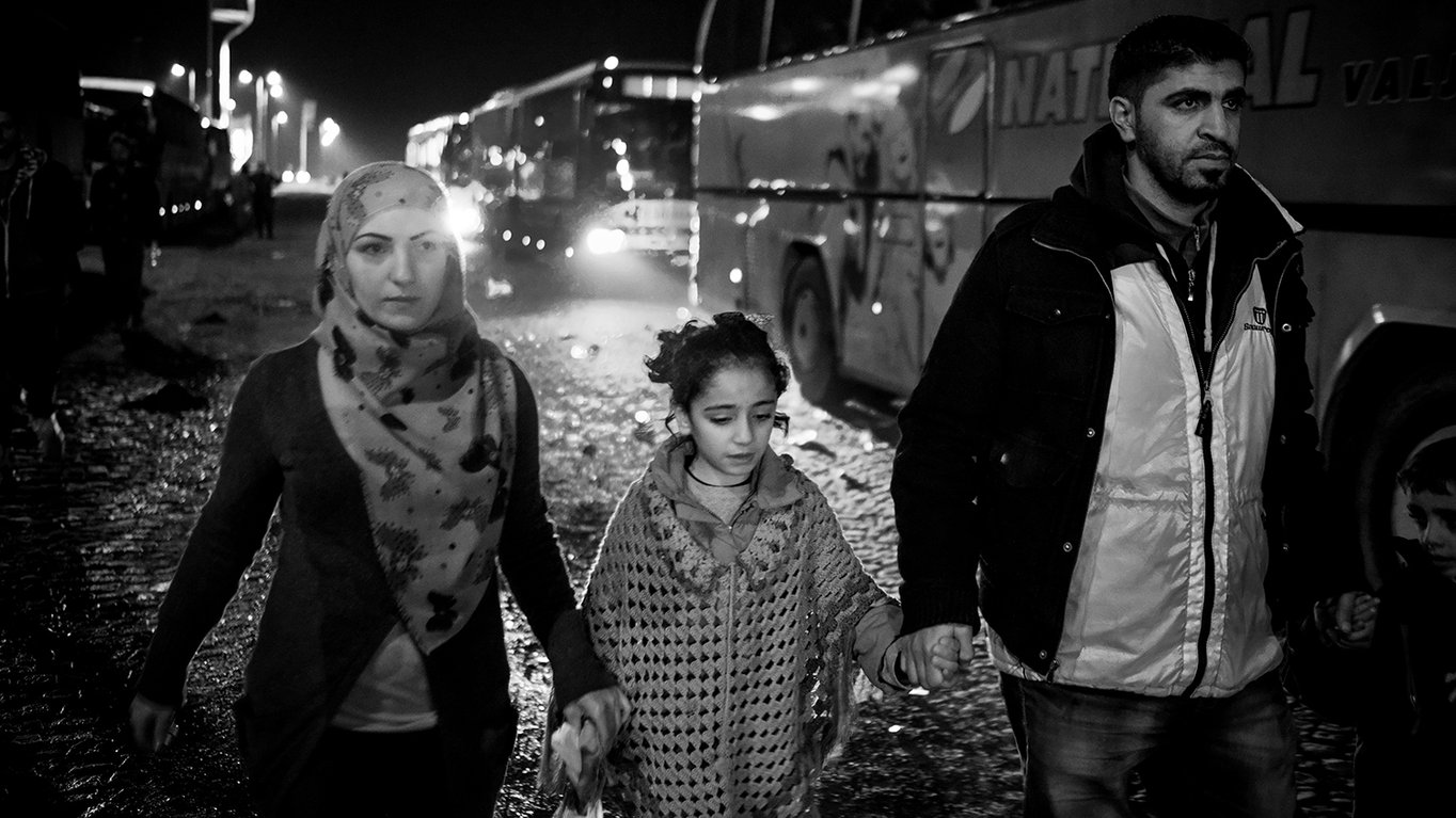 Flüchtlinge - Die Geschichte der Reise von Familie Raslan aus Syrien
