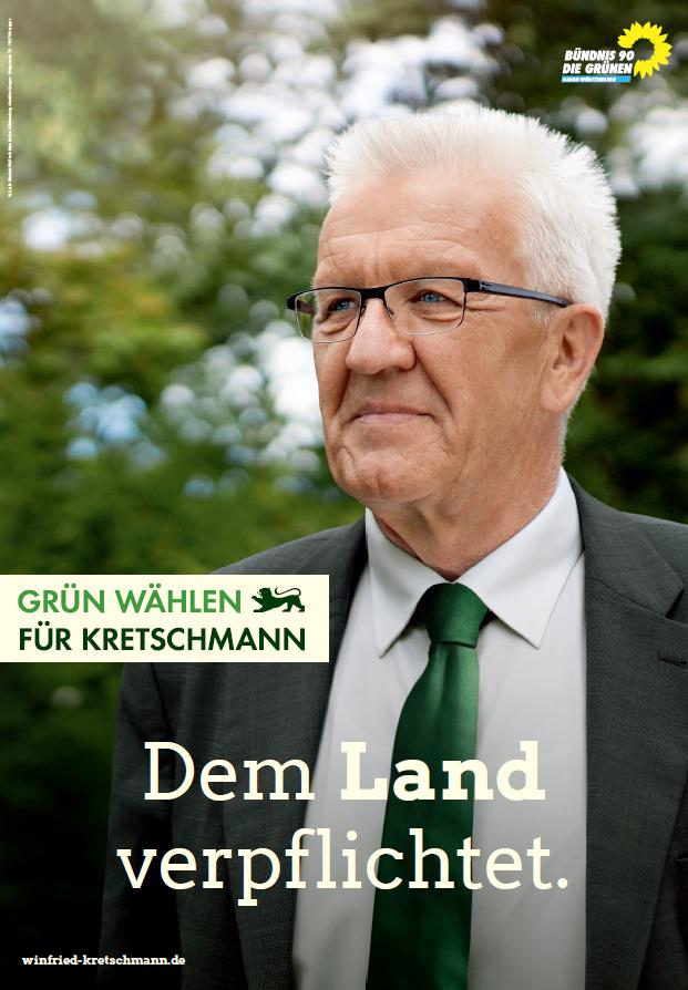 """""""Fünf Dinge, die mich geprägt haben"""", erzählt von Ministerpräsidet Winfried Kretschmann"""